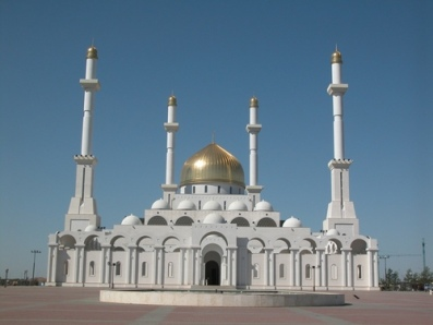 The Mosque in Astana, Kazakhstan