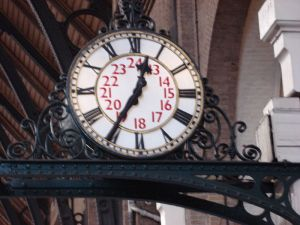 A Clock in London
