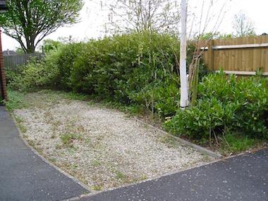 Unattended garden